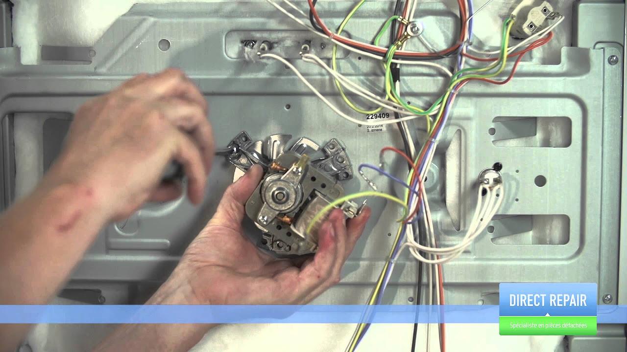 remplacer le ventilateur de votre four