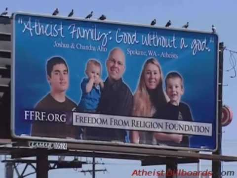 Atheist Billboards - Spokane, WA - Freedom From Religion Foundation (FFRF) - Local news