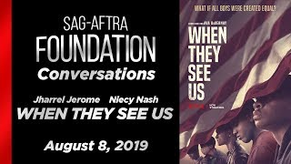 Conversations with Jharrel Jerome & Niecy Nash of WHEN THEY SEE US