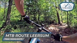 Officiële MTB route Leersum 🇳🇱 – Hoogtepunten