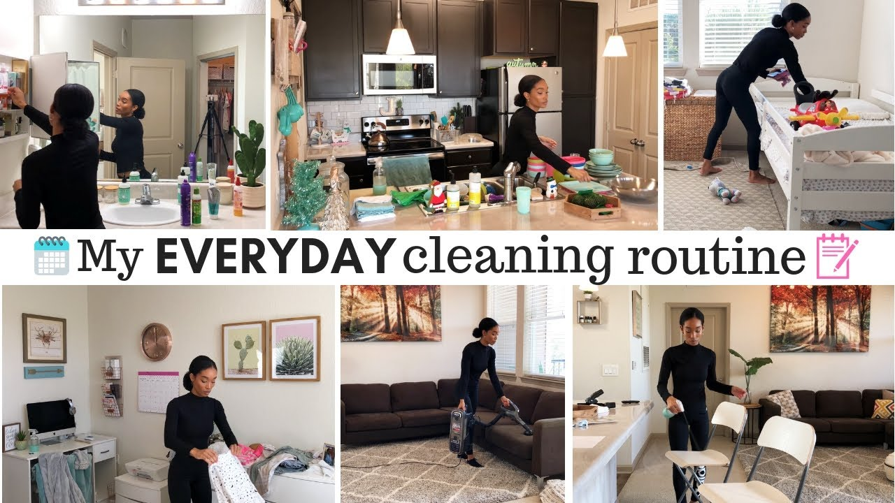 Stay At Home Mom Daily Cleaning Routine What I Clean Everyday Jessica Tull Cleaning