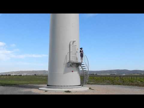 Wind Farm in France no noise