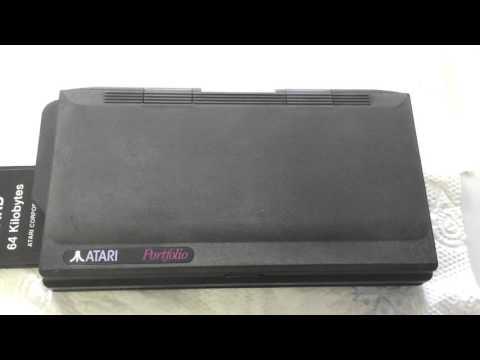 Atari Portfolio - sauberer