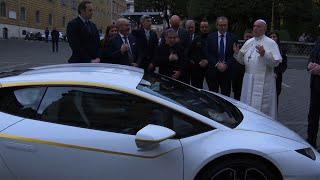 Pope Gets Special-Edition Lamborghini