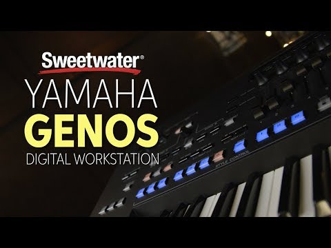 Yamaha Genos 76-key Arranger Workstation | Sweetwater