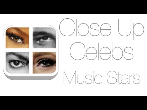 Close Up Celebs Music Stars Answers Levels 1-10