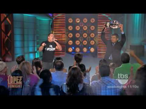 "The Miz performs ""Jump Around"" on ""Lopez Tonight"": ""WWE Superstar Karaoke Week"""