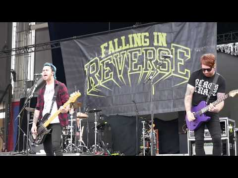 Falling In Reverse (4) Chemical Prisoner @ Chicago Open Air (2017-07-14)