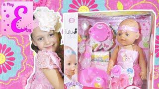 кукла baby born против tutu dolls распаковка аналога eva and play