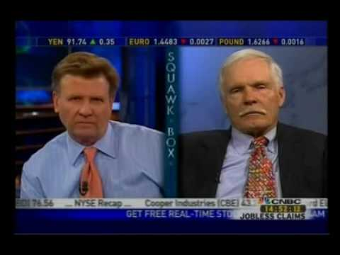 Ted Turner Advises CNN Not to Follow Fox News Opinion Mode