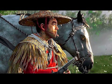 GHOST OF TSUSHIMA - PS4 Samurai Gameplay Demo 4K (E3 2018)