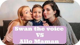CHALLENGE SWAN THE VOICE: QUI EST LA MEILLEURE MAMAN ?