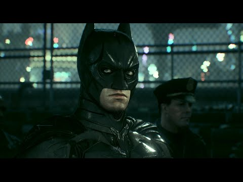 Batman: Arkham Knight (PC)(The Dark Knight Suit Walkthrough)[Part 2] - Ace Chemicals