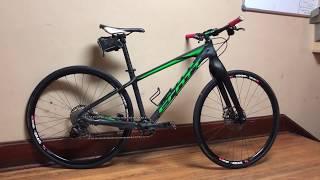 Het converteren van een mountainbike in een Road Bike!
