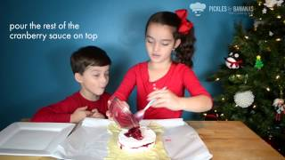 Pickles & Bananas - The Cooking Kids - Baked Brie En Croute With Cranberry Sauce