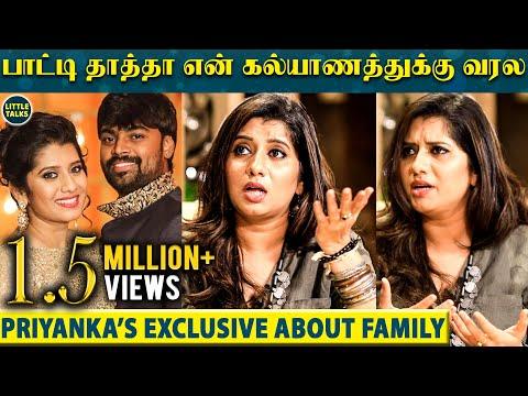 என் Husband கரகாட்டம்-லாம் வெச்சு Surprise கொடுத்தான் - VJ Priyanka's Unknown side   LittleTalks