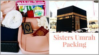 WHAT WOMEN SHOULD TAKE TO UMRAH