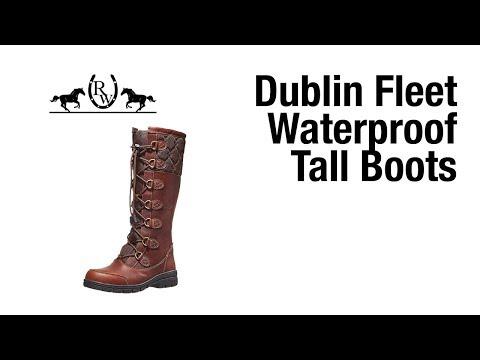 Dublin Women's Fleet Lace-Up Waterproof Tall Boots