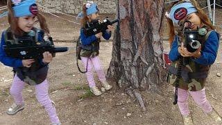 Anadolu park laser tabancası ile savaş, Trambolin  zıp zıp park