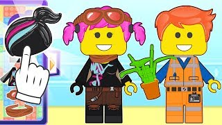 👶🏻 BABY ALEX AND LILY Dress up as The LEGO Movie 2 👶🏻 Cartoons for Kids