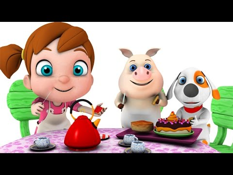 Polly Put The Kettle On | Baby Songs | Nursery Rhymes Songs Compilation | Kindergarten Kid Songs