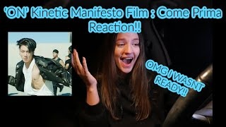 Gambar cover BTS (방탄소년단) 'ON' Kinetic Manifesto Film : Come Prima (REACTING!!!)