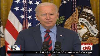 Biden habla de vacunas, Cuomo y moratoria de desalojos