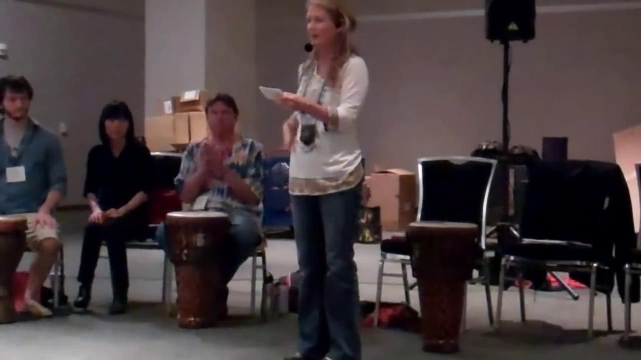 How to play Body Beat game from UpBeat Drum Circles