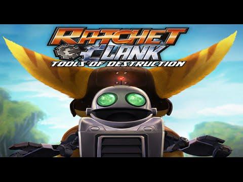 Ratchet & Clank Tools of Destruction All Cutscenes HD GAME