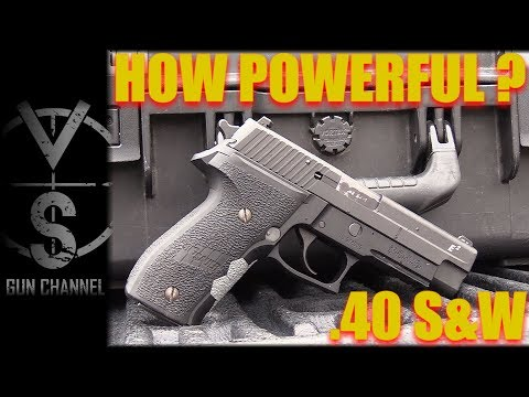 HOW POWERFUL Is IT? .40 S&W