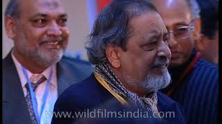 V S Naipaul's book launch 'Beyond Beliefs'
