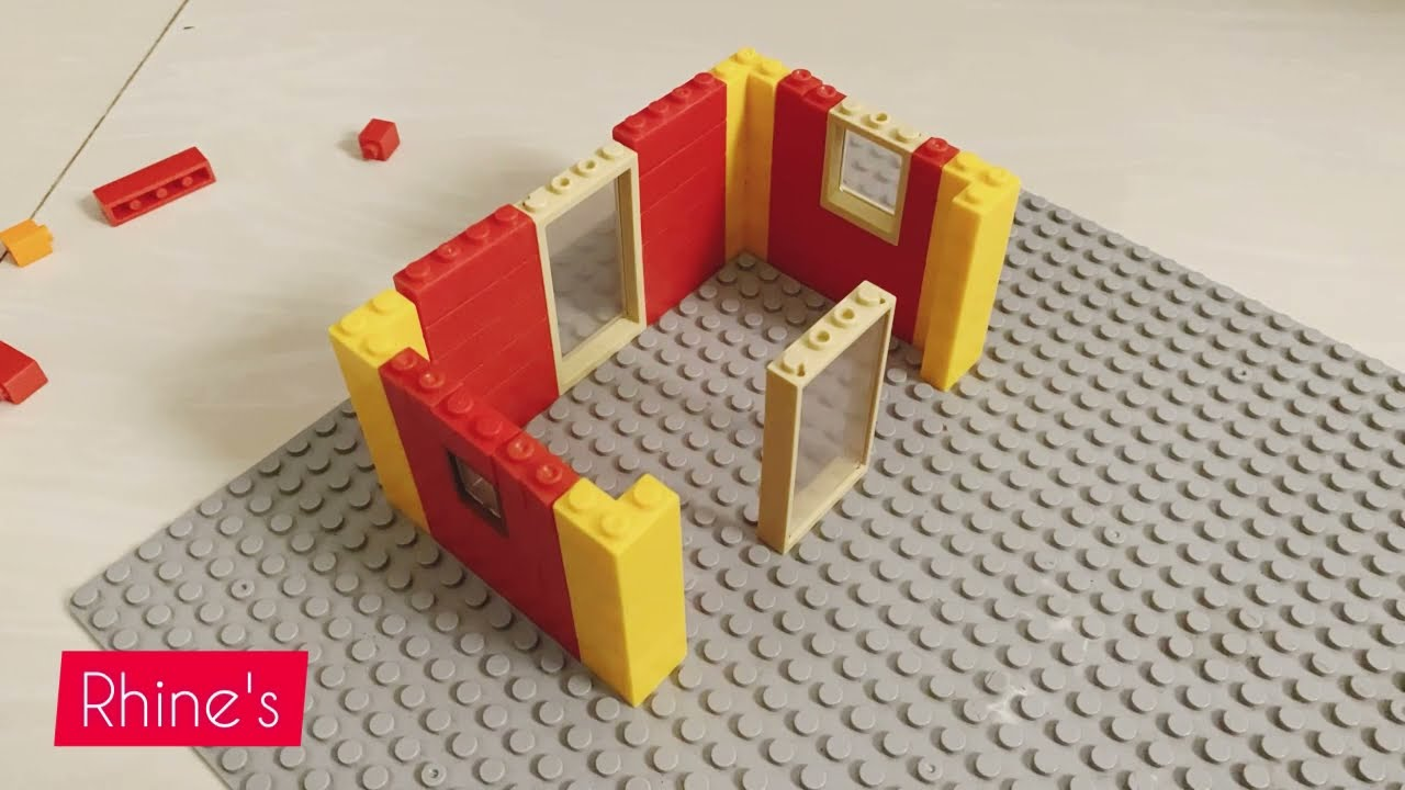 Lego big house building | 3 stored building project