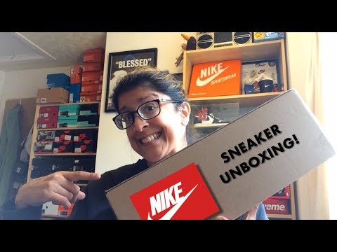 SNEAKER UNBOXING - NIKE HEAVEN AND CHAT!