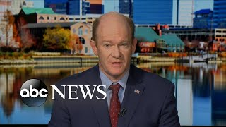Sen. Chris Coons speaks out on what happened behind the scenes with Sen. Flake
