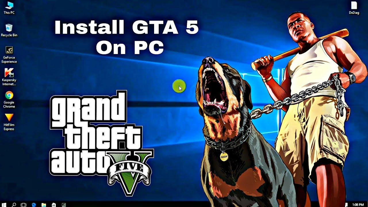 How to Install GTA 5 On PC Windows 7,8,8.1,10 - YouTube