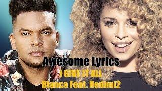 I Give It All - Blanca ft. Redimi2 (Letra Español/English)