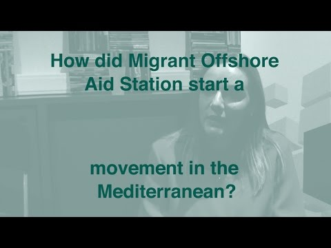 How did Migrant Offshore Aid Station start a movement?