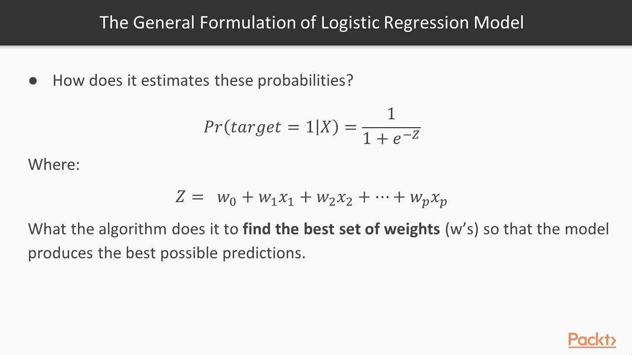 Making Predictions with Data and Python : Logistic Regression | packtpub com