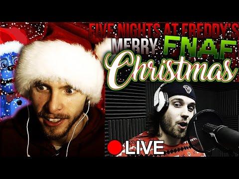 Vapor Reacts #217 | [FNAF] CHRISTMAS RAP SONG