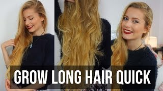 How to Grow Long Hair Quick! | Ellesse