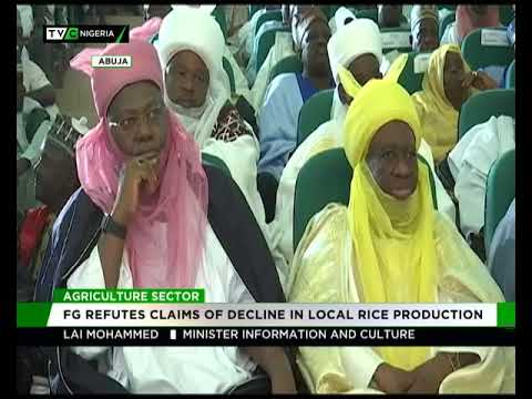 Image result for FG refutes claims of decline in local rice production