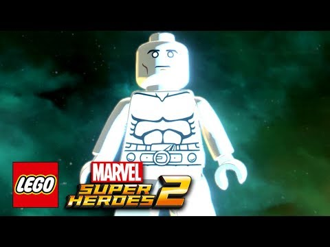 LEGO Marvel Super Heroes 2 - How To Make The Silver Surfer (Norrin Radd)