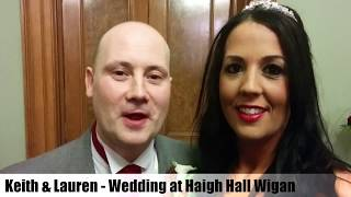Review by Keith at Haigh Hall of Wedding Magician in Wigan Ian's Close Up Magic