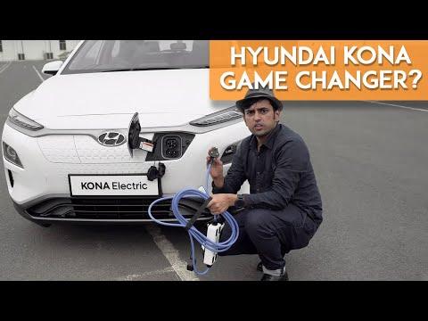 Hyundai Kona Electric Compact SUV : Preview