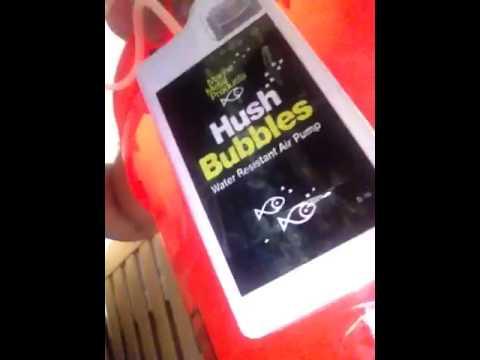 Homemade live well: Hush bubbles Aerator- Very inexpensive!