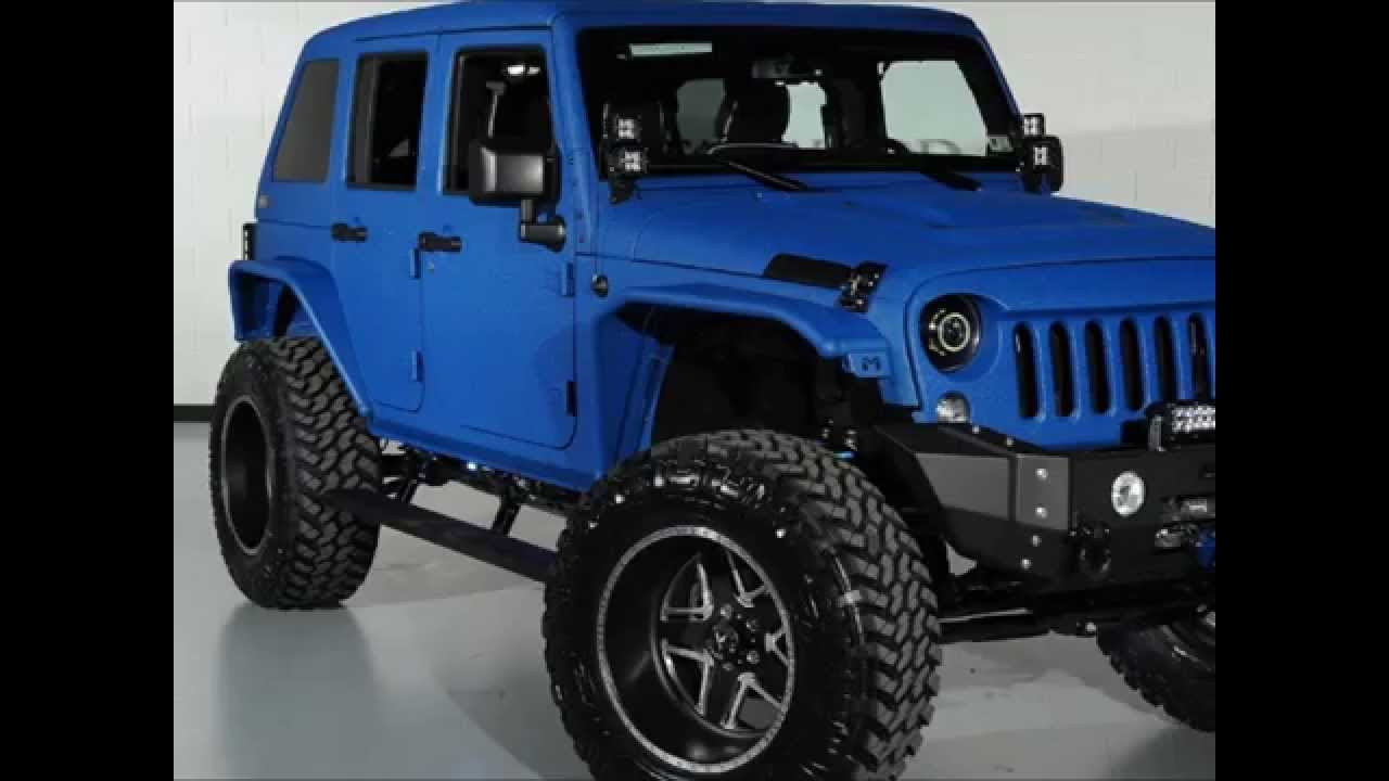 2014 Lifted Jeep Wrangler Unlimited Kevlar Coated Youtube