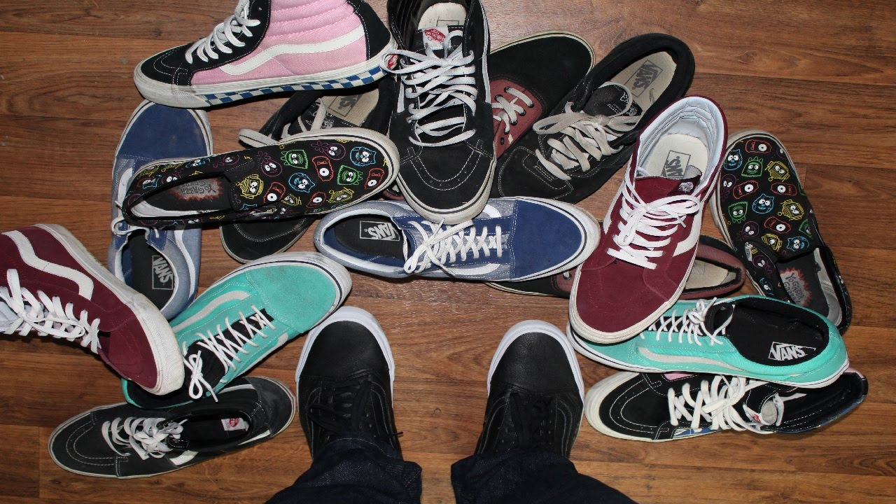 f005982b43e My Vans Shoes Collection 3/16/16