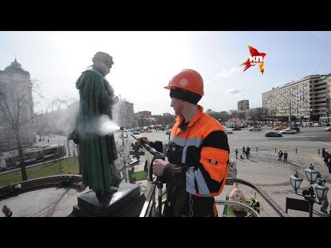 Памятник А. С. Пушкину в Царском селе (Г. Пушкин)