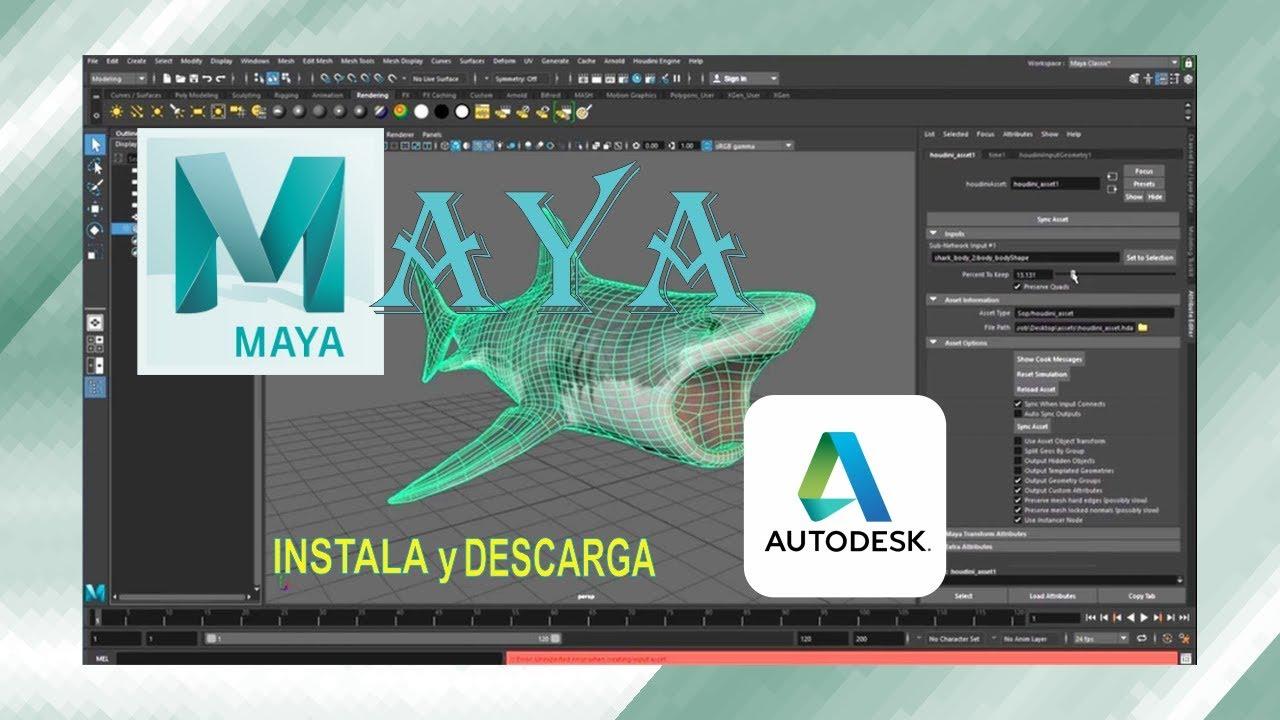 🎉 Descarga MAYA autodesk [GRATIS] 2019
