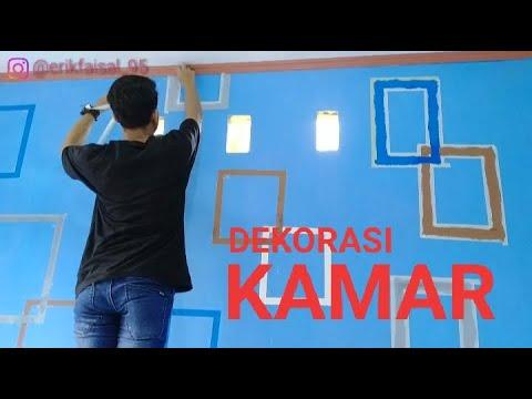 dekorasi kamar dengan motif sederhana - youtube